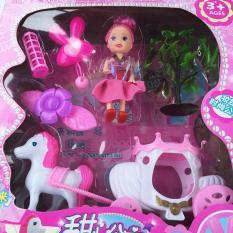 Hình ảnh Búp bê công chúa xe bí ngô