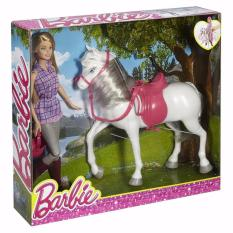 Búp Bê Tiểu Thơ Barbie Và Ngựa Yêu Đang Ưu Đãi Giá