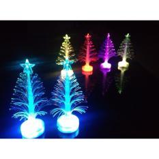 Hình ảnh Bộ 3 Cây thông Noel có đèn Led phát sáng