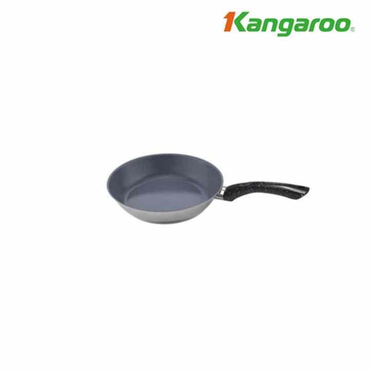 Chảo inox tráng sứ Kangaroo KG167L 30cm