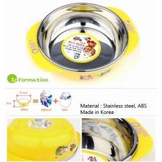 Cửa Hàng Bán Chen Tập Ăn Inox Baby Han Quốc Terra 450Ml 2 Tay Cầm Sk5 Vỏ Ngoai Bằng Nhựa Pp