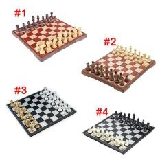 Hình ảnh Chess Game Set Board Chessman King Checkers Toys Table Games(Type:#4,Size:S) - intl
