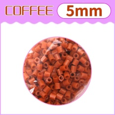 Hình ảnh Children's Paradise 1000pcs Hama Fuse Beads DIY Craft Educational Funny Toys 5mm Coffee - intl