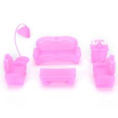 Hình ảnh Đồ chơi trẻ em dành cho Búp Bê Barbie Ngôi Nhà Mơ Ước bộ nội thất phụ kiện nhỏ nhà chơi Kelly Barbie bộ ghế sofa-quốc tế