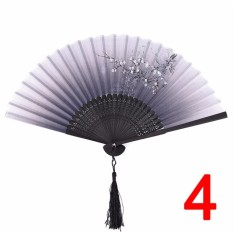 China Wind Fans Folding Hand Wire Classical Mixed Decoration Home Furnishing - intl