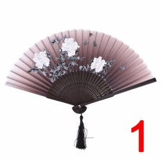China Wind Fans Folding Hand Wire Classical Mixed Decoration Home Furnishing Type : 1 - intl
