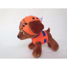 Hình ảnh Chú chó cứu hộ cao 12cm - Chó nhồi bông