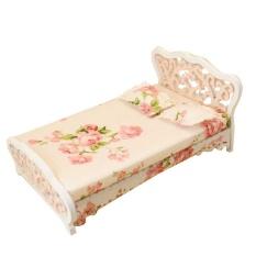 Hình ảnh Cocotina bộ nội thất phòng ngủ Châu Âu giường công chúa khắc giường-quốc tế