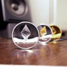 Hình ảnh Sưu tập Yêu Thích Bitcoin Mới Vàng Sắt Bitcoin Đồng Tiền Kỷ Niệm Quà Tặng-intl