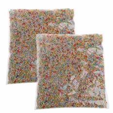 Hình ảnh Nhiều màu sắc Xốp Mini Xốp Bóng Nhỏ Hạt Cho Chất Nhờn TỰ LÀM Nghệ Thuật Thủ Công Trang Trí-quốc tế