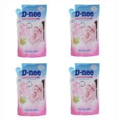 Giá Bán Combo 04 Tui Nước Rửa Binh Sữa Va Rau Củ Quả Dnee X 600Ml Nguyên Dnee