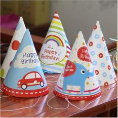 Hình ảnh Combo 06 mũ sinh nhật cho bé TL-M
