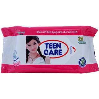Combo 10 gói Khăn ướt Teen Care gói 20 tờ thumbnail