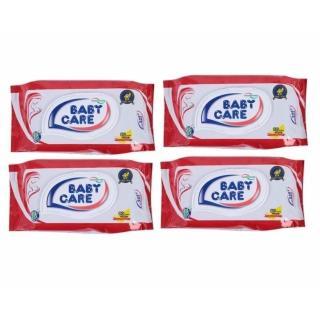 Combo 10 Khăn giấy ướt Babycare hương phấn 80 miếng thumbnail
