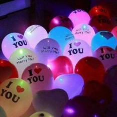 Hình ảnh Combo 10 quả bóng phát sáng trang trí tiệc siêu đẹp ( màu hình ngẫu nhiên )
