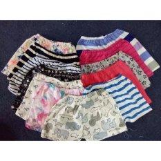 Combo 10 quần đùi cotton kẻ chất đẹp cho bé Chipxinhxk