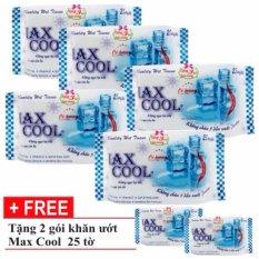 Combo 12 Goi Khăn Ướt Max Cool 25T Co Hương Hồ Chí Minh