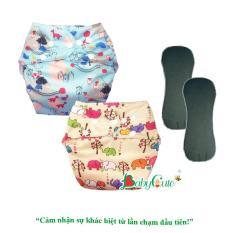 Combo 2 bộ tã vải đêm siêu chống tràn BabyCute size L (14-24kg)
