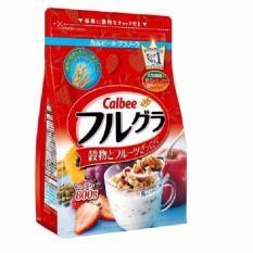 Bán Combo 2 Goi Ngũ Cốc Calbee Nhật Bản Date 2018 Mới Nhất Thị Trường 1 Goi 800G Rẻ