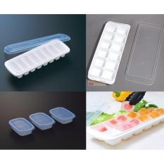 Ôn Tập Combo 2 Khay Co Nắp Kk 3 Hộp Chia Thức Ăn Dặm Cho Be Nhựa Nhật Bản Cao Cấp