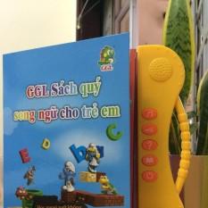 Hình ảnh Combo 2 Sách song ngữ Việt - Anh cảm ứng giúp cho bé phát triển sớm khả năng ngoại ngữ