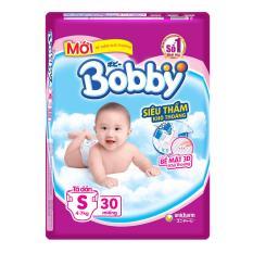Mua Combo 2 Tui Ta Dan Bobby Size S Sieu Thấm 30 Miếng Cho Be Dướii 7Kg Trong Hà Nội
