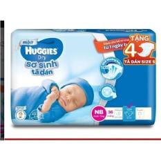 Giá Bán Combo 2 Tui Ta Dan Sơ Sinh Huggies Newborn Nb36 36 Miếng Tặng Kem 4 Miếng Mỗi Tui Rẻ