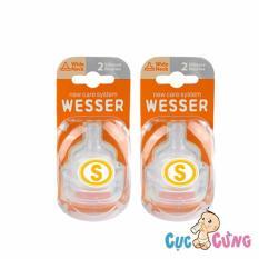 Cửa Hàng Combo 2 Vỉ Num Ty Wesser Cổ Rộng Size S Mỗi Vỹ 2 Cai Wesser Trực Tuyến