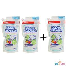 Giá Bán Combo 3 Bịch Nước Rửa Binh Sữa Pigeon 700Ml Rẻ Nhất