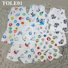 Combo 3 bộ ba lỗ Tole TOLE01  MihaBaby