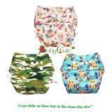 Combo 3 Bộ Ta Vải Đem Sieu Chống Tran Babycute Size M 8 16Kg Trong Hồ Chí Minh