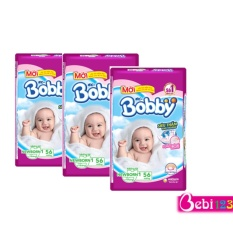 Bán Combo 3 Goi Miếng Lot Sơ Sinh Bobby Newborn1 56