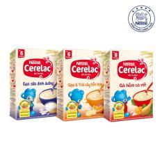 Bán Combo 3 Hộp Bột Ăn Dặm Nestle Cerelac 3 Vị Tặng 1 Cặp Ban Chải Đanh Răng Cho Be Có Thương Hiệu Nguyên