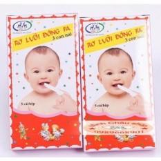 Combo 5 hộp Tưa lưỡi Đông Fa cho bé sơ sinh