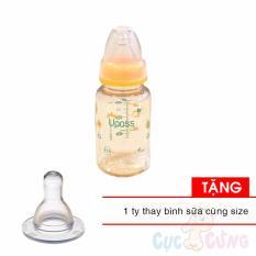 Bán Mua Combo Binh Sữa Upass Cổ Thường 120Ml Pes Cam Tặng 1 Ty Cung Size Hồ Chí Minh
