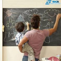Hình ảnh ComBo 2 Decal dán tường vẽ cho bé (đen) - Kmart