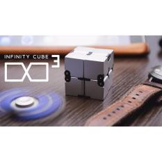 Hình ảnh Combo Khối quay lập phương Infinity Cube Bằng Nhôm Đẳng Cấp + Hand Spinner 2 cánh bằng ĐỒNG Legaxi IC04