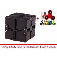 Hình ảnh Combo Khối quay lập phương Infinity Cube + Hand Spinner 3 cánh 4 vòng bi Legaxi IC02