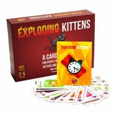 Hình ảnh Combo Mèo Nổ Hẹn Giờ: Mèo nổ + Bản mở rộng #4 Timebomb Kittens