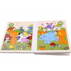 Combo Sách Ghép Hình Màu Sắc Và Sách Vẽ Ma Thuật Cho Bé Yêu