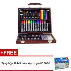 Hình ảnh Bộ màu vẽ đa năng Colormate MS-78W + Tặng hộp 16 bút màu sáp trị giá 80.000đ