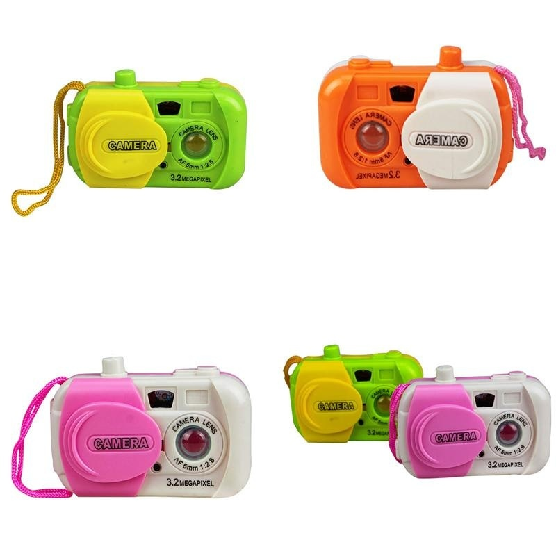 Cool baby Fun Colourful Camera Centre Baby simulation Camera Toys Kids Educational - intl