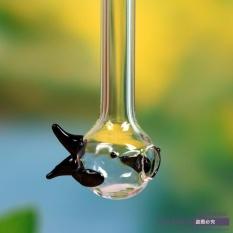 Hình ảnh Ống hút uống nước hình cá đa năng, chất liệu thủy tinh
