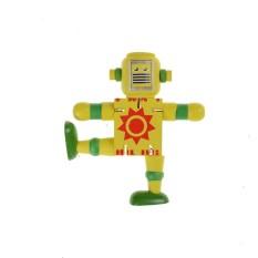 Hình ảnh Gỗ sáng tạo Robot Học Tập & Giáo Dục Trẻ Em Đầu Học Tập Đồ Chơi-quốc tế