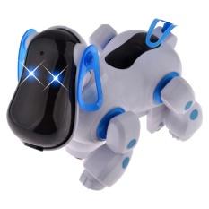 Hình ảnh Dễ thương Robot Thông Minh Điện Tử Đi Bộ Thú Cưng Tuần Tra Chó Con Chó Con Juguetes Đồ Chơi có Đèn Nhạc cho Trẻ Em Trẻ Em-intl