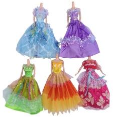 Hình ảnh Mềm in Áo Quần Áo Trang Phục Cho Búp Bê Barbie Trang Trí Phụ Kiện-quốc tế