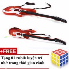 Đàn Guitar Cho Bé Tập Đánh Và Làm Mẫu Chụp ảnh Rất Phong Cách + Tặng 01 Rubik Loại 1 Trơn, Nhạy (hàng Cao Cấp) By Shop Hà Nội 1102
