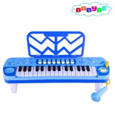 Hình ảnh Đàn Organ Có Míc Cho Bé Babybe ( Xanh Dương )