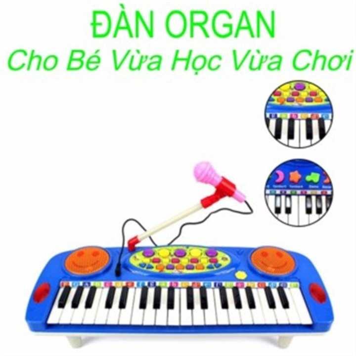 Đàn Organ điện tử kèm Micro cho bé yêu