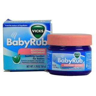 Dầu giảm ho chống ngạt Baby Rub thumbnail